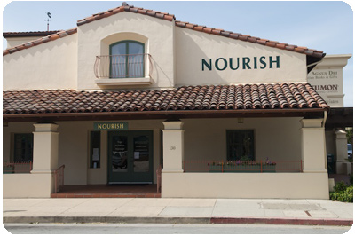 Nourish Building on Walnut Street